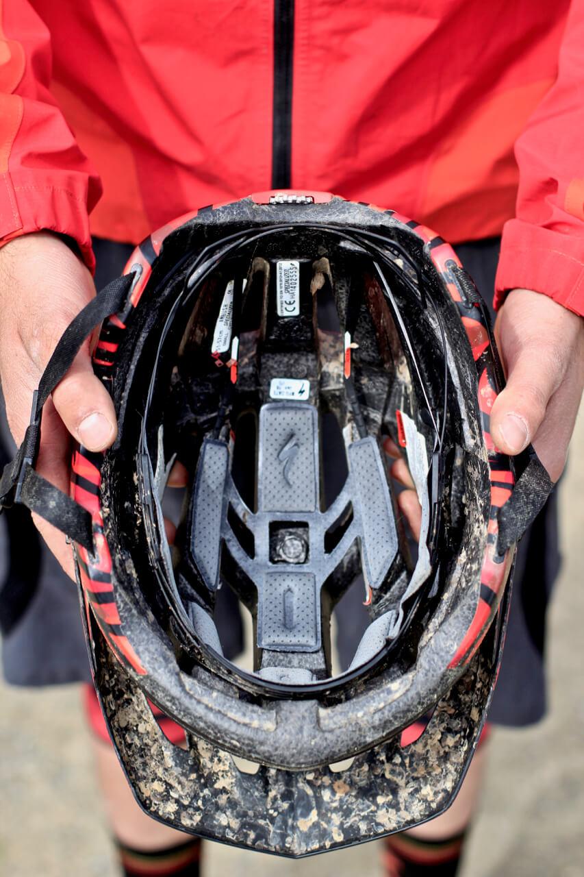 Mountainbike Helm Kauf beachtem Sitz Rock my Trail Mountainbikeschule 5 - Rock my Trail Bikeschule