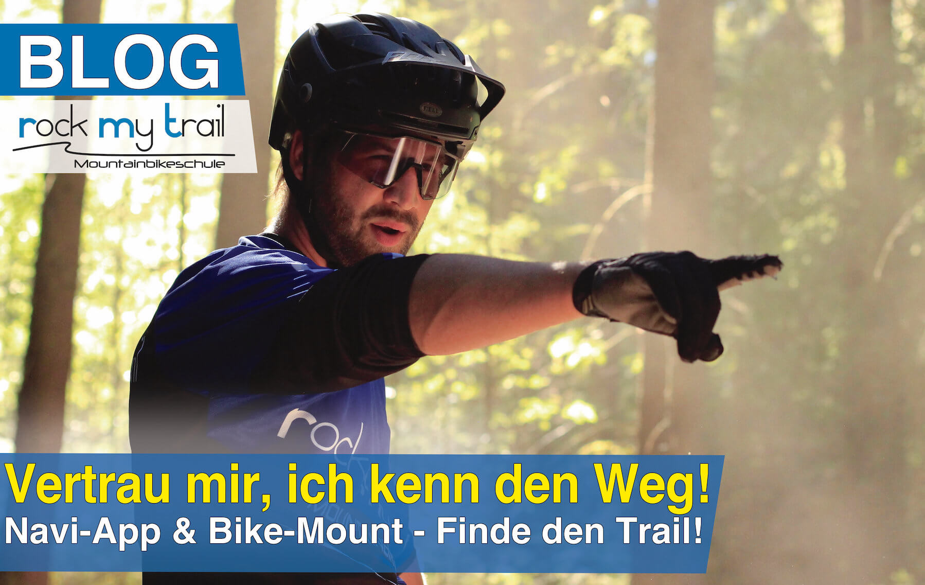 Mountainbike Tour planen - MTB Navigations App