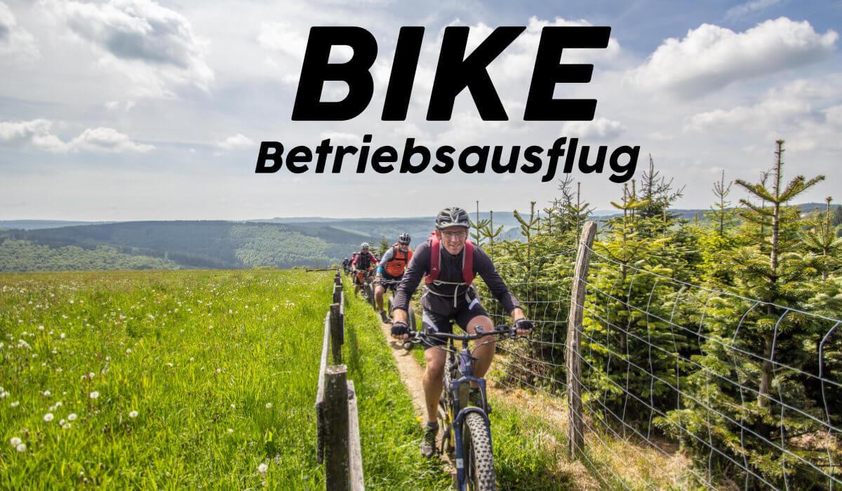 Mountainbike Betriebsausflug im Bergischen-tt