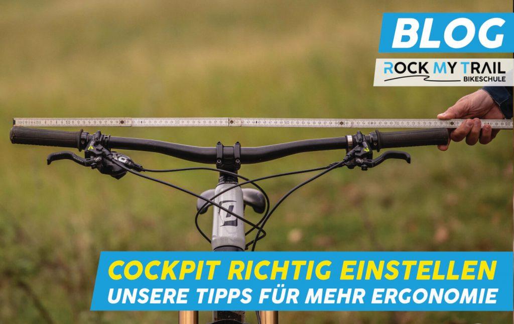 Mountainbike Lenker richtig einstellen Rock my Trail Bikeschule Beitragsbild - Rock my Trail Bikeschule