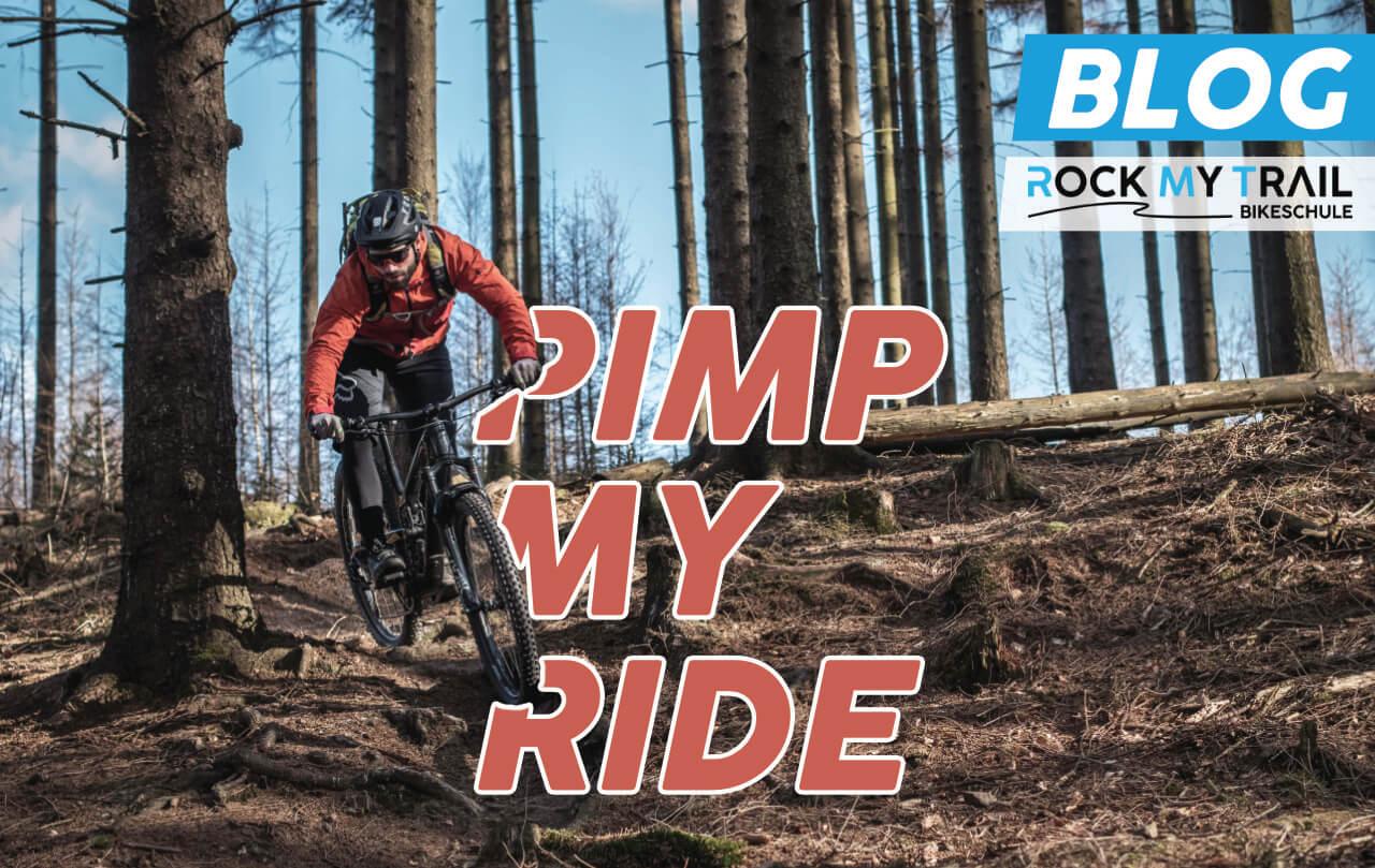 Pimp my ride Indoor Ideen fuer Mountainbiker - Rock my Trail Bikeschule