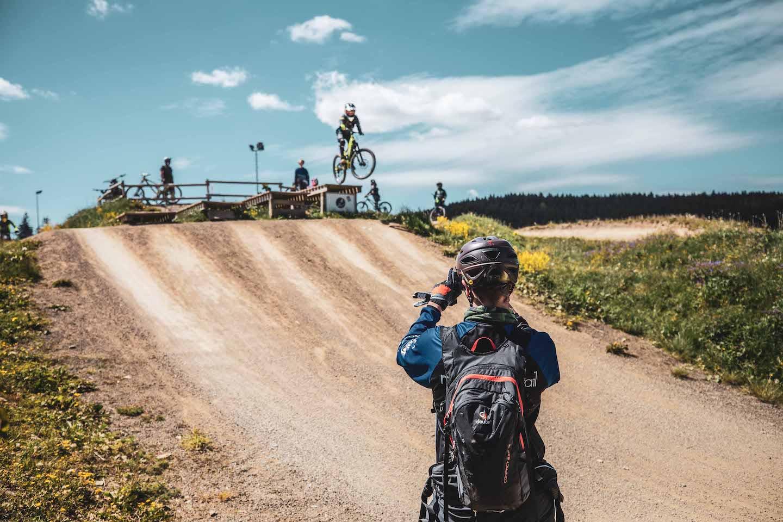 Bikepark Fahrtechnik Kurs Kinder Rock my Trail Bikeschule