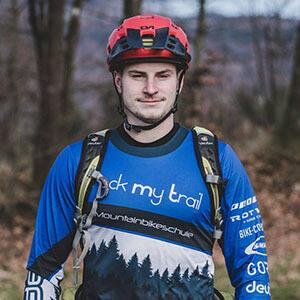Rock my Trail Bikeschule Fahrtechnik Trainer_ Dion Mauersberger