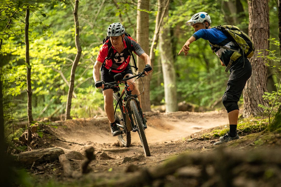 MTB Fortgeschritten Kurs Rock my Trail Bikeschule