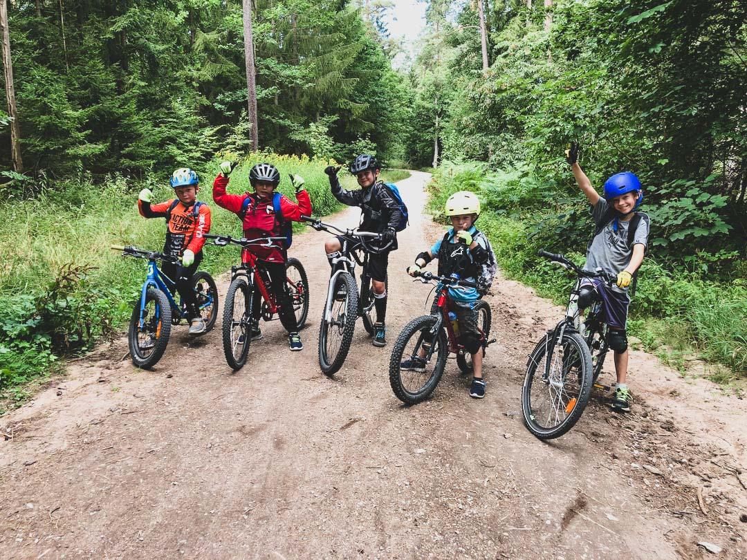 Mountainbike Kinder Kurs in Nürnberg Franken Bayern - 8-12 Jahre Kids - Rock my Trail Fahrtechnik Bikeschule -32
