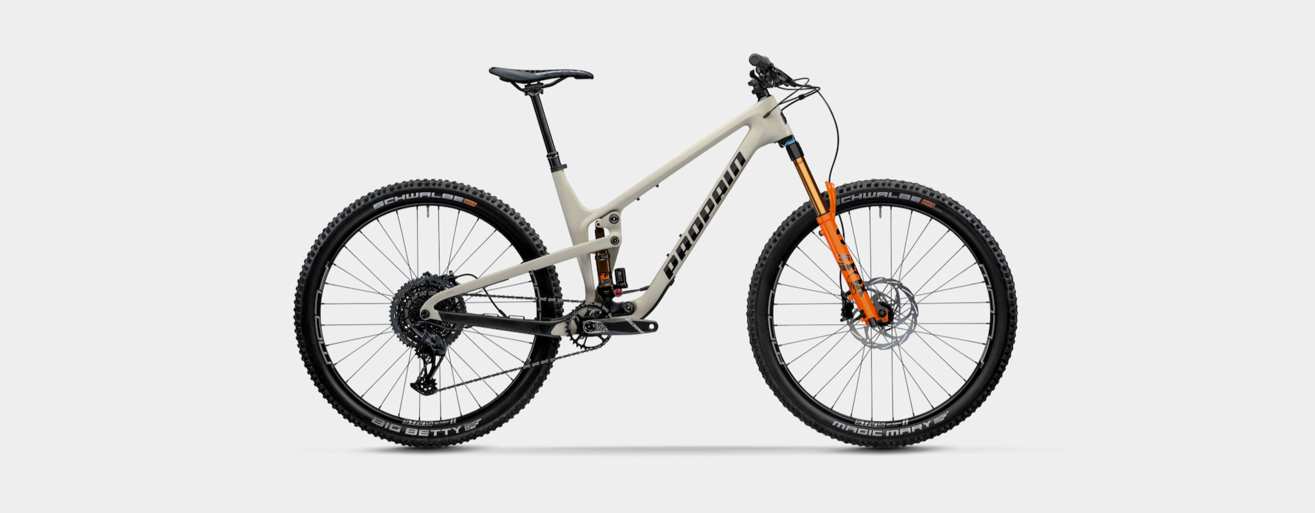 Bike Verleih Gummersbach Propain Bikes Testcenter NRW Hugene 2 - CF - M - Safari - 1920x750px