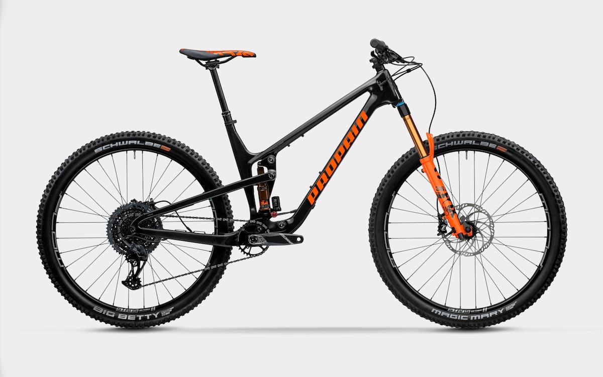 Bike Verleih Gummersbach Propain Bikes Testcenter NRW Hugene 3 - CF - L - Raw - Bild