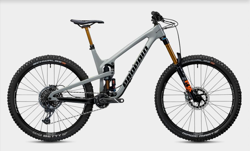 Bike Verleih Gummersbach Propain Bikes Testcenter NRW Spindrift 4 - CF - L - 29 - Moongrey - Bild