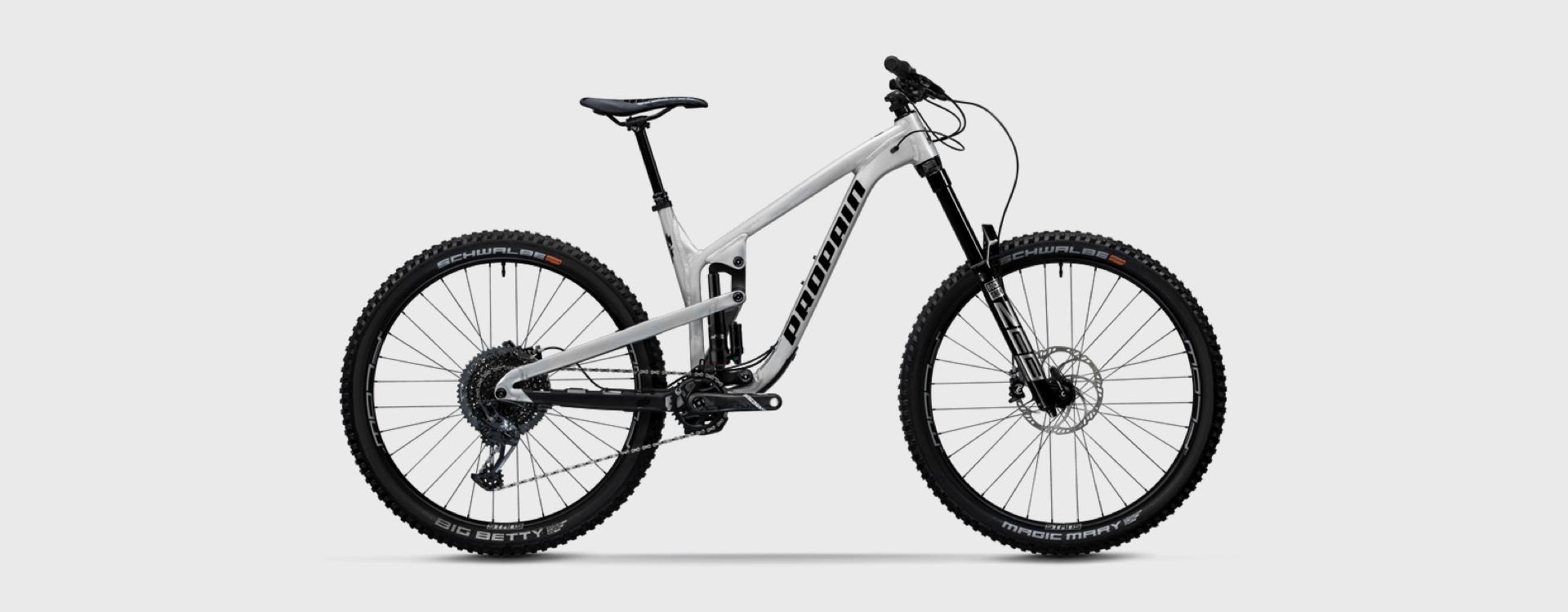 Bike Verleih Gummersbach Propain Bikes Testcenter NRW Spindrift 5 - AL - L - Mix - Raw - 1920x750