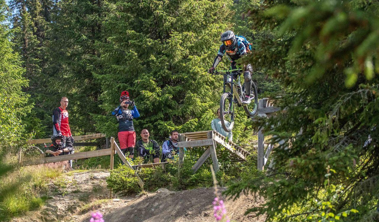 Bikepark Fortgeschritten Fahrtechnik Kurs in Winterberg Sauerland Training 13