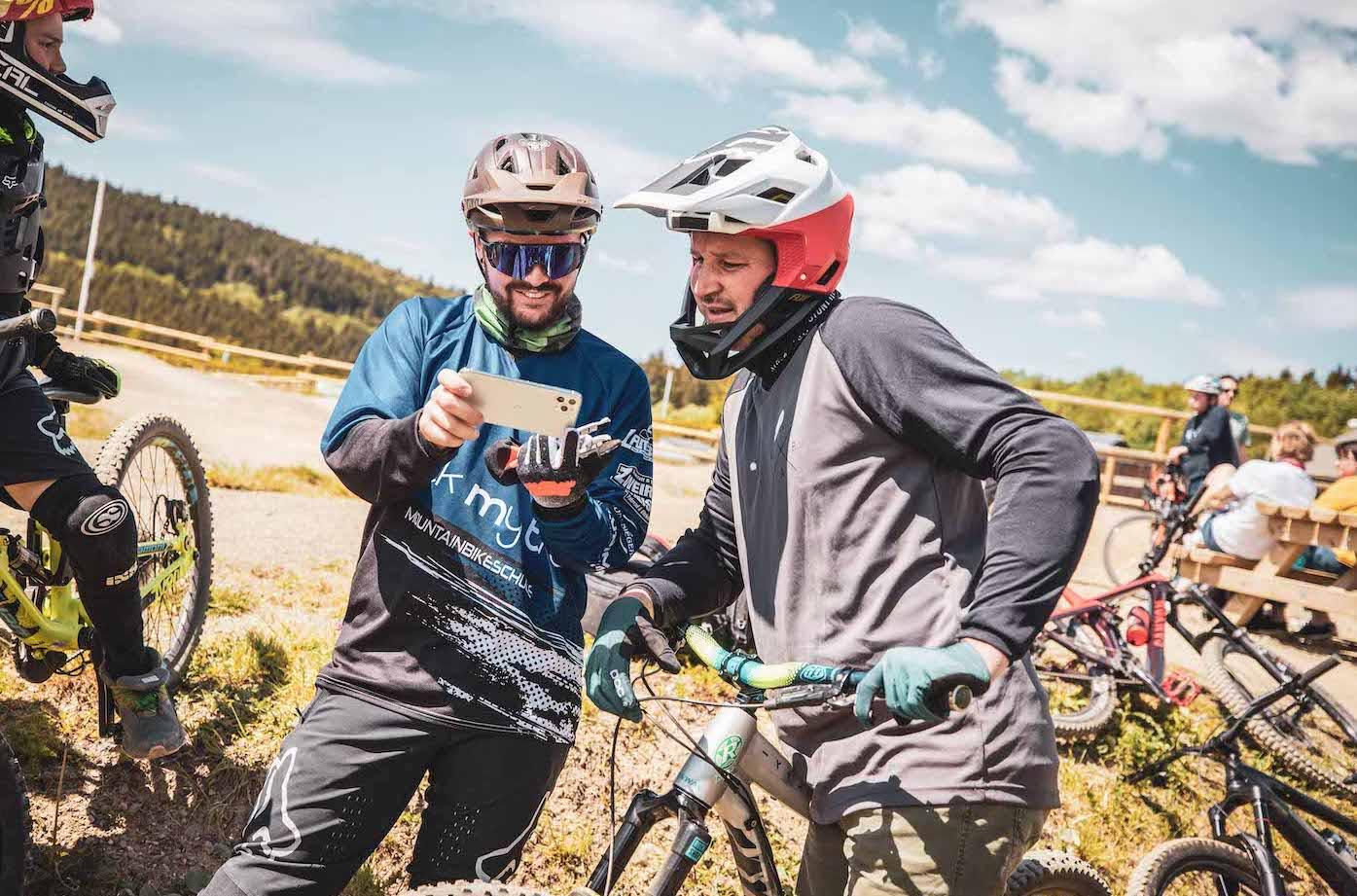 Bikepark Starter Kurs Geißkopf - Fahrtechnik - Rock my Trail