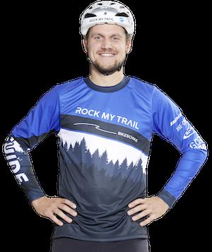 Daniel von Kossak Rock my Trail Nürnberg MTB eBike Fahrtechnik Trainer