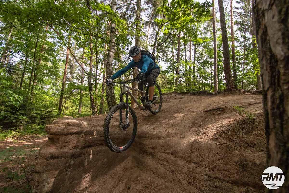 Experten Fahrtechnik Kurs in Darmstadt - Rock my Trail MTB und eBike Bikeschule