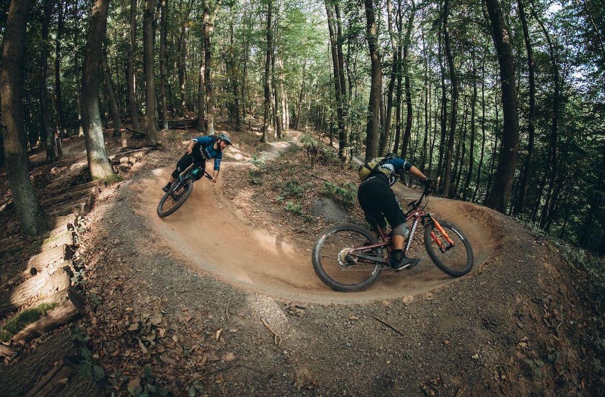 Experten Fahrtechnik Kurs in Moers - Rock my Trail MTB und eBike Bikeschule