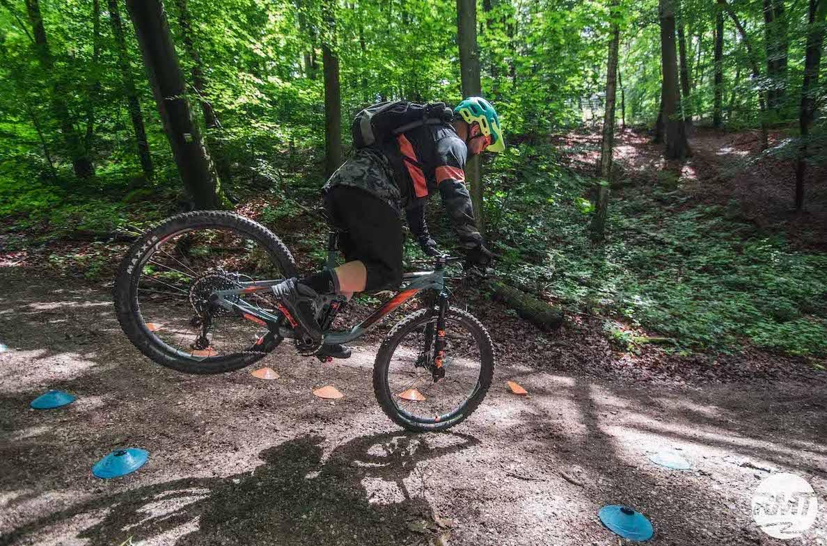 Experten Fahrtechnik Kurs in Moers - Rock my Trail MTB und eBike Bikeschule - 7