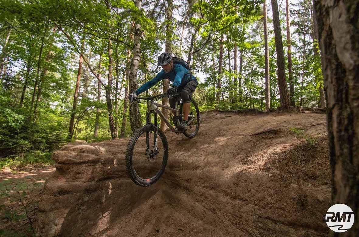 Experten Fahrtechnik Kurs in Moers - Rock my Trail MTB und eBike Bikeschule - 9