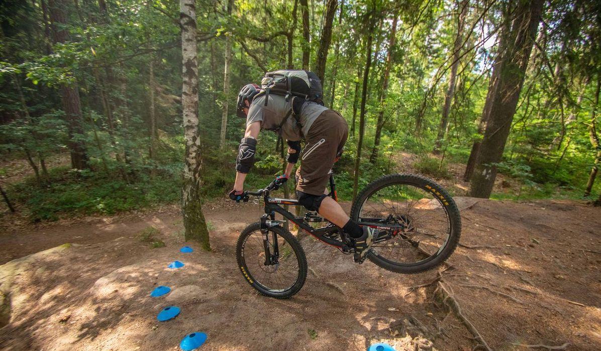 eMTB Fortgeschritten Fahrtechnik Kurs in Siegen - Rock my Trail Bikeschule