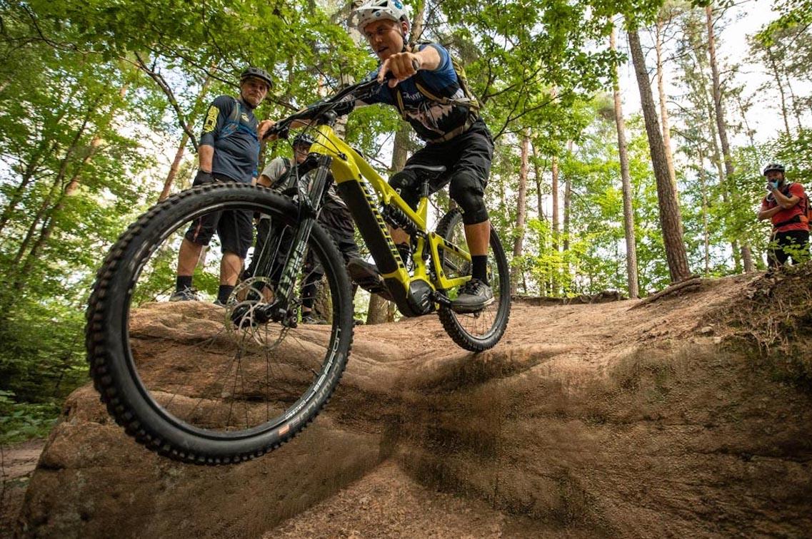 Experten Fahrtechnik Kurs in Winterberg - Sauerland Trailpark - Rock my Trail MTB und eBike Bikeschule