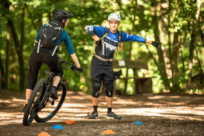Fahrtechnik Wochenende Basic+ Winterberg Sauerland Intensiv Training - Rock my Trail - Bikeschule
