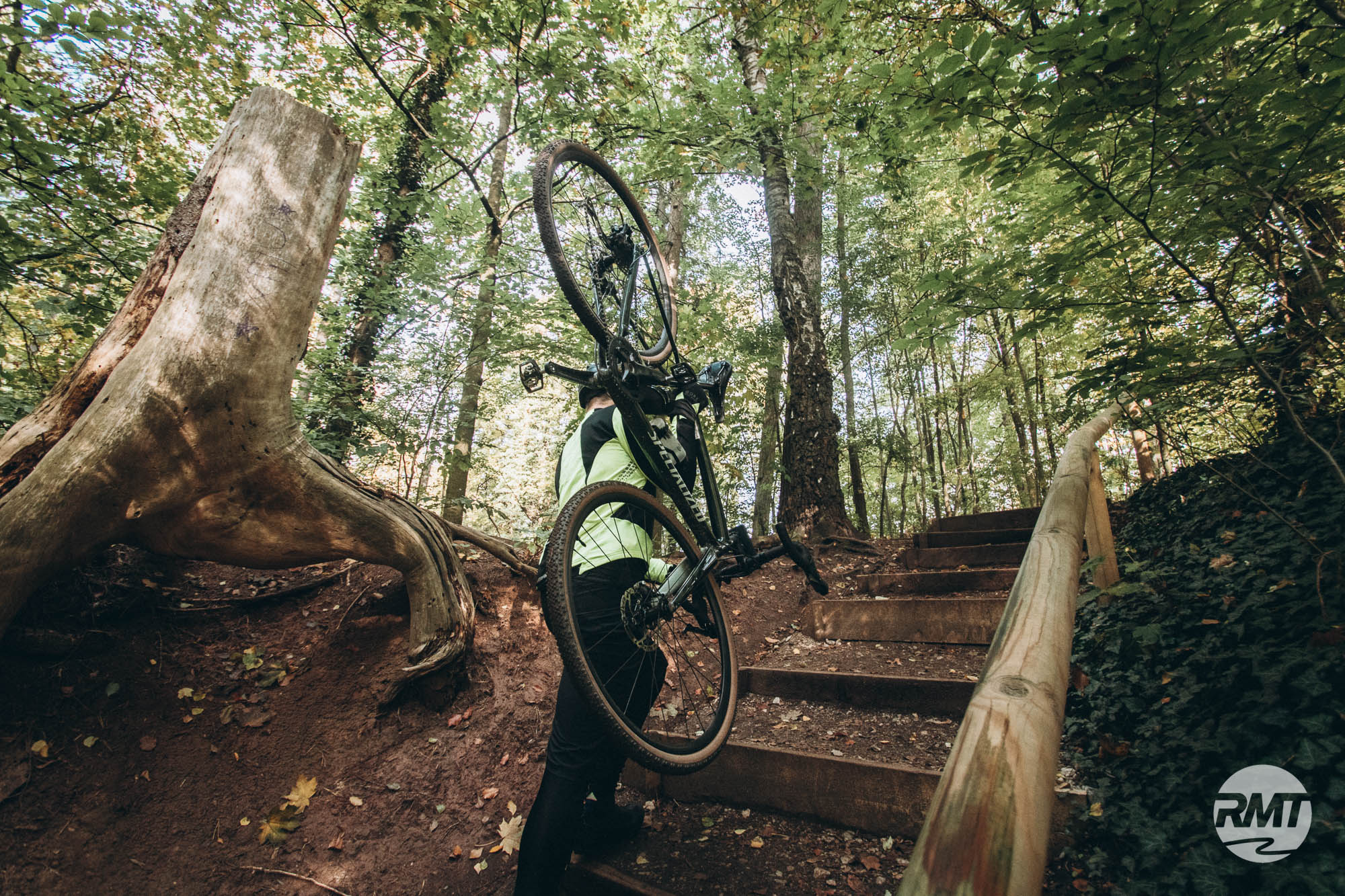 Gravel Fahrtechnik Basic Frankfurt | taunus Trails CycloCross Training Rock my Trail Bikeschule25