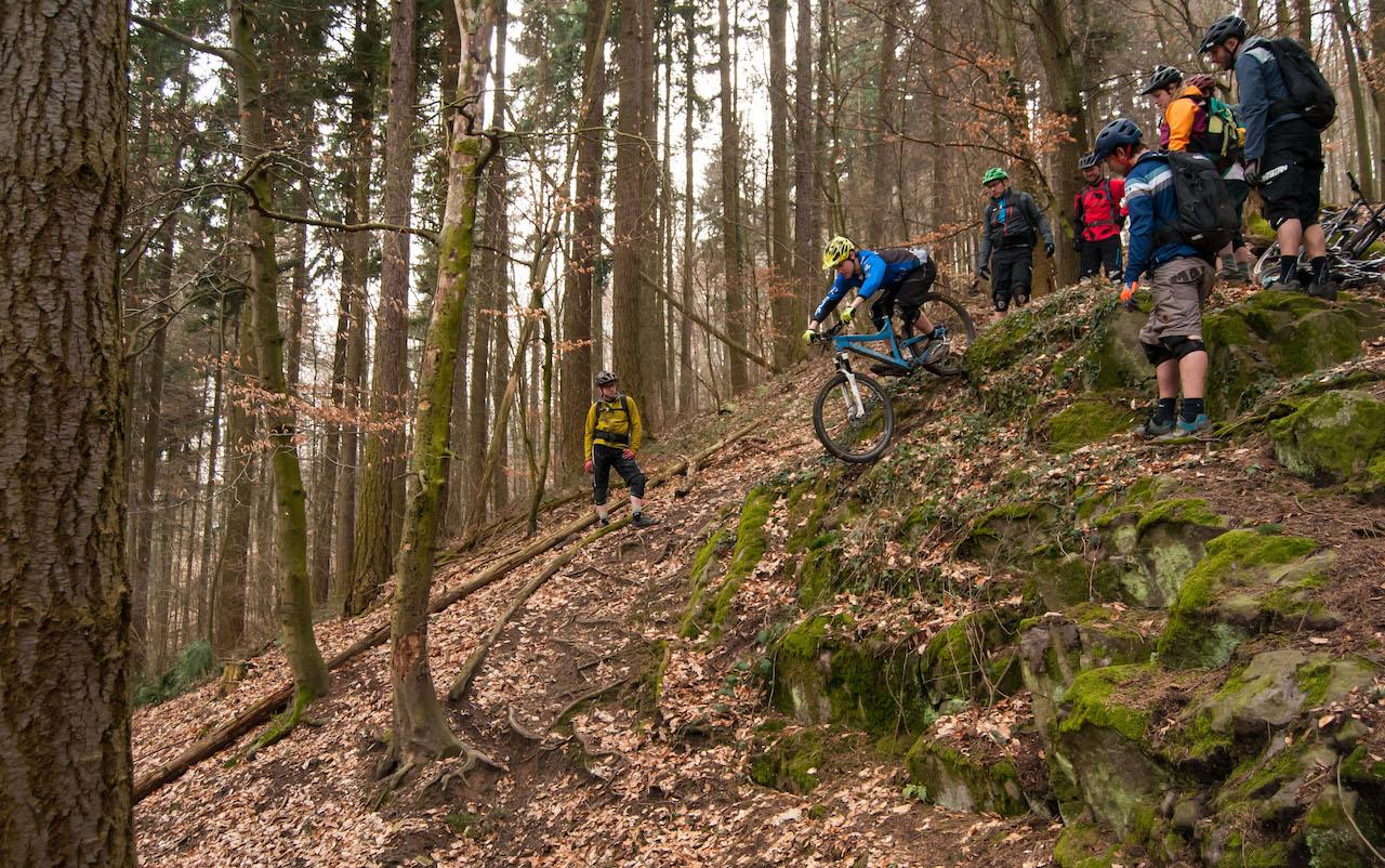 Gutschein für Enduro Fahrtechnik Kurse - MTB Profi Training - Rock my Trail Bikeschule