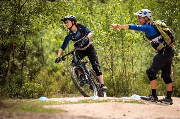 Gutschein für eMountainbike Einsteiger Kurs - eBike Fahrtechnik Training Rock my Trail Bikeschule