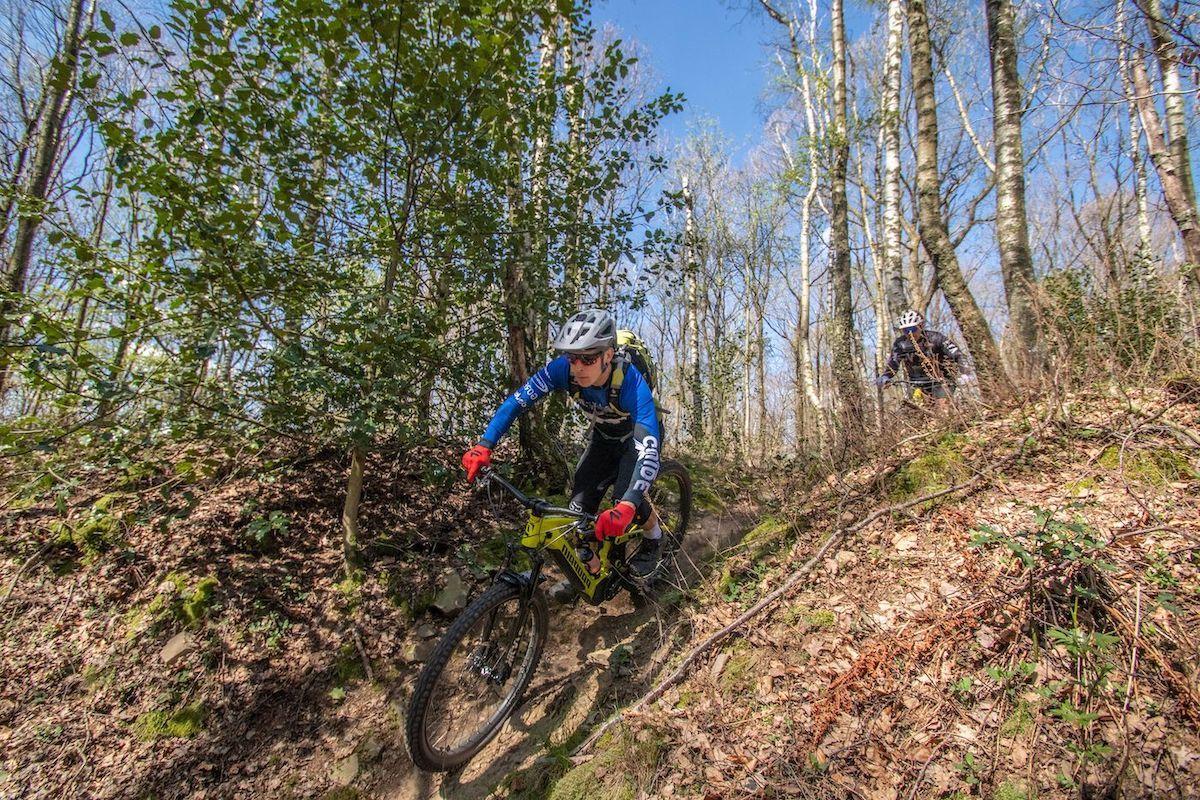 MTB Experten Fahrtechnik Kurs in Würzburg - Rock my Trail MTB und eBike Bikeschule