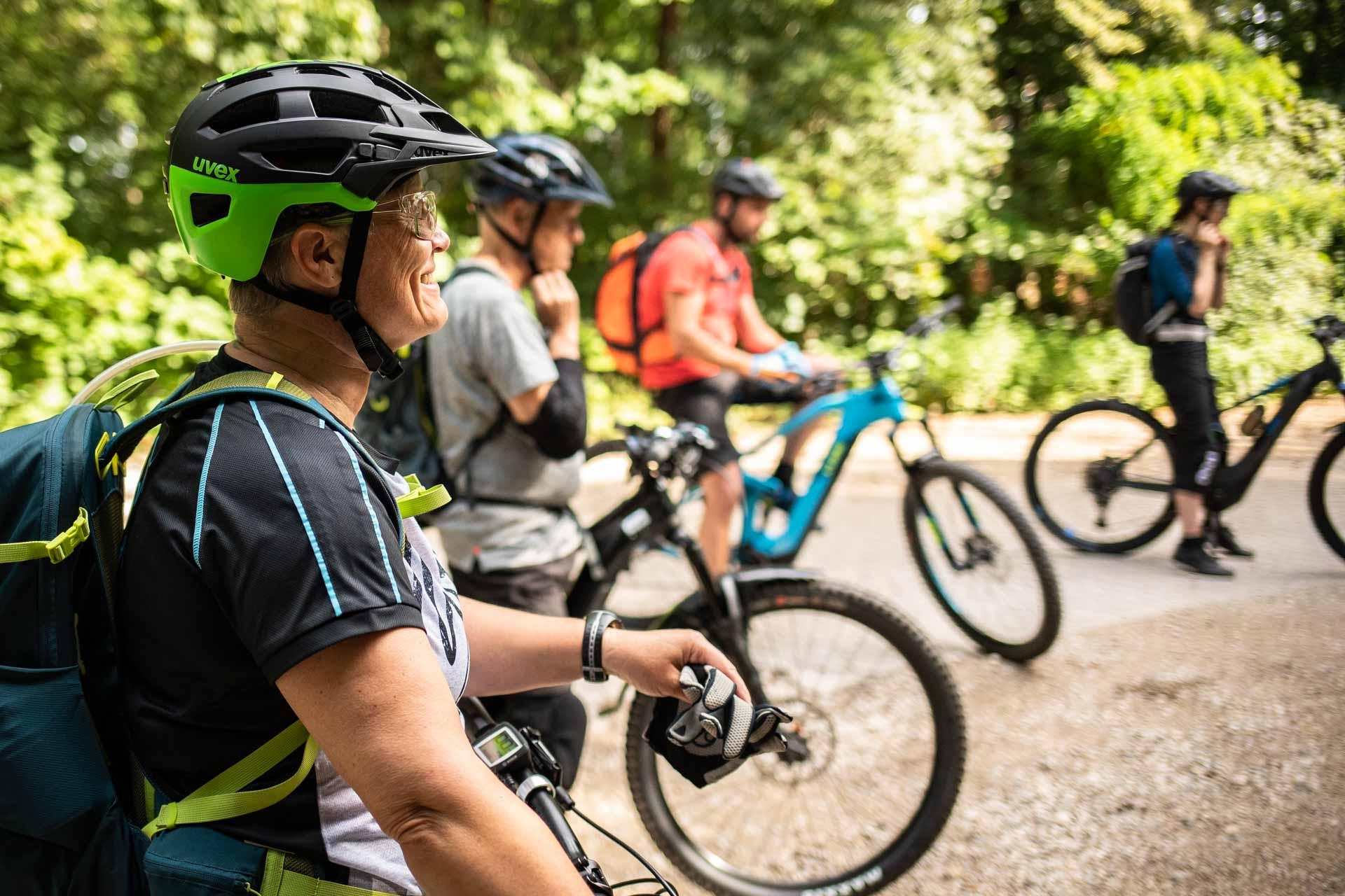 MTB Fahrtechnik Kurs Anfänger Einsteiger in Würzburg - Mountainbike Basic Trail Unterfranken - Rock my Trail Bikeschule