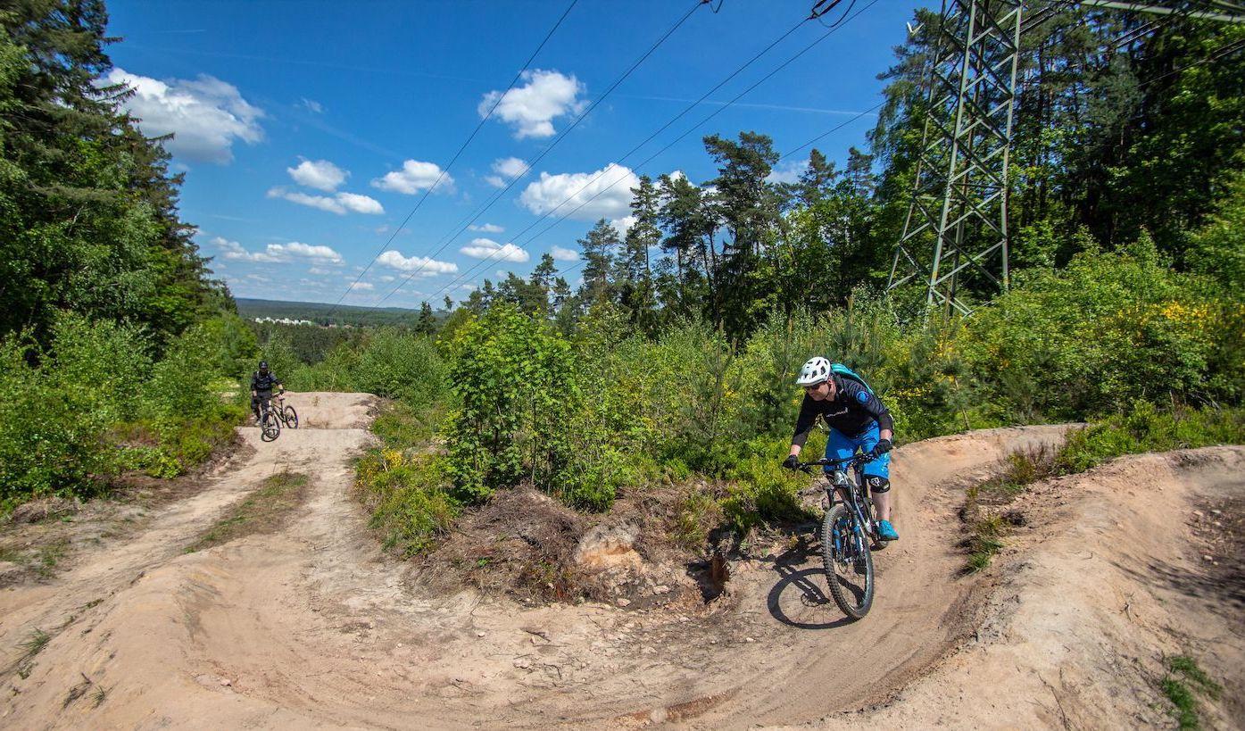 MTB Fahrtechnik Kurs Fortgeschrittene in Gummersbach  Wiehl - Mountainbike Fortgeschritten - Rock my Trail Bikeschule