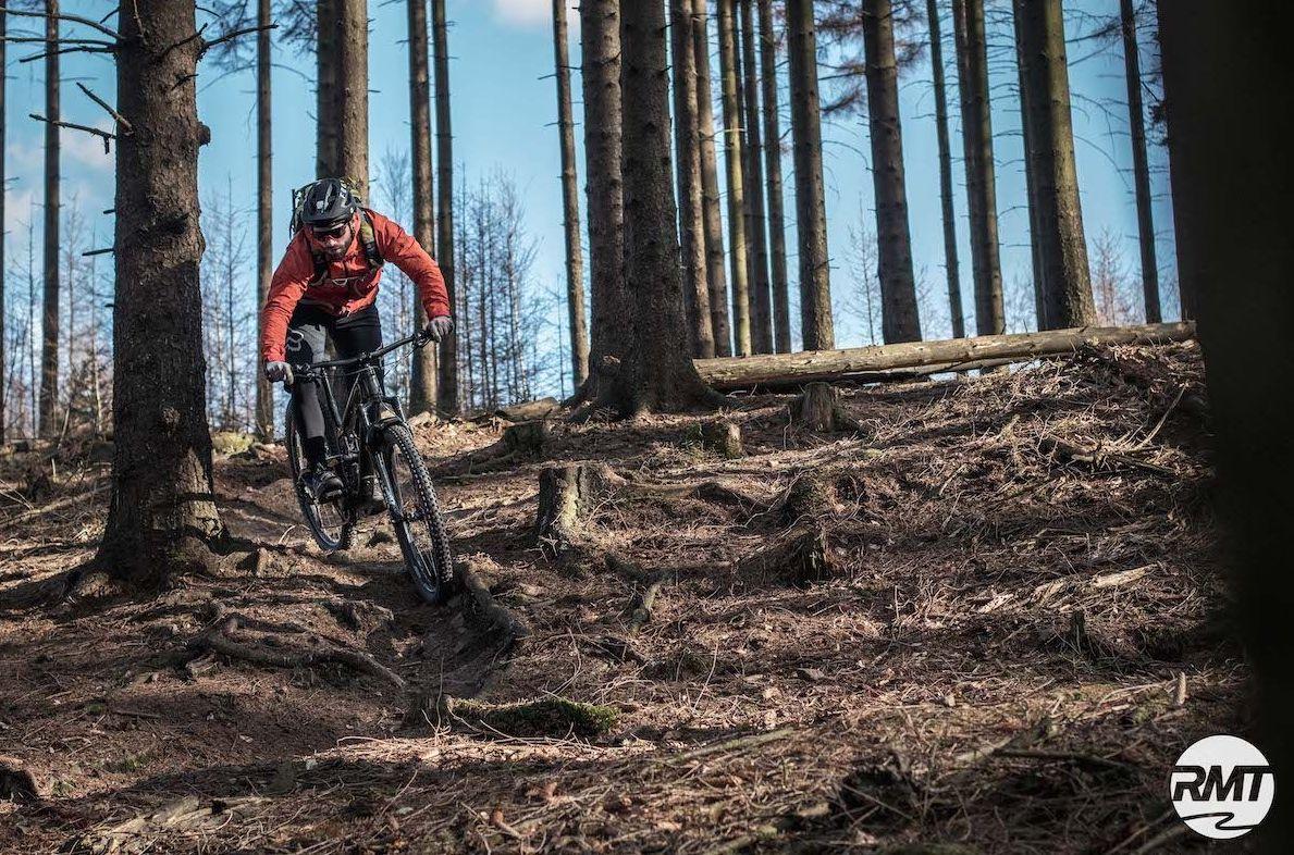 MTB Fahrtechnik Kurs Fortgeschrittene in Marburg - Biedenkopf Universitätsstadt Hessen - Mountainbike Fortgeschritten - Rock my Trail Bikeschule