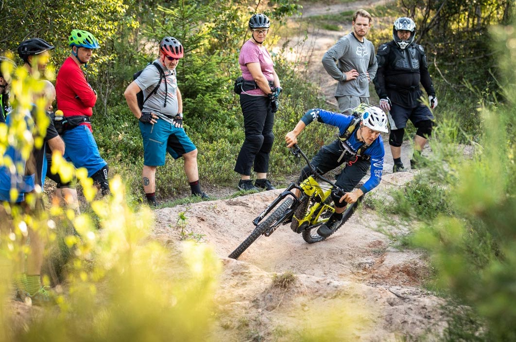 MTB Fahrtechnik Kurs Fortgeschrittene in Siegen - Mountainbike Fortgeschritten - Rock my Trail Bikeschule