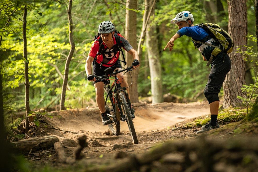 MTB Fahrtechnik Kurs Fortgeschrittene in Stuttgart  Esslingen - Mountainbike Fortgeschritten - Rock my Trail Bikeschule - 20