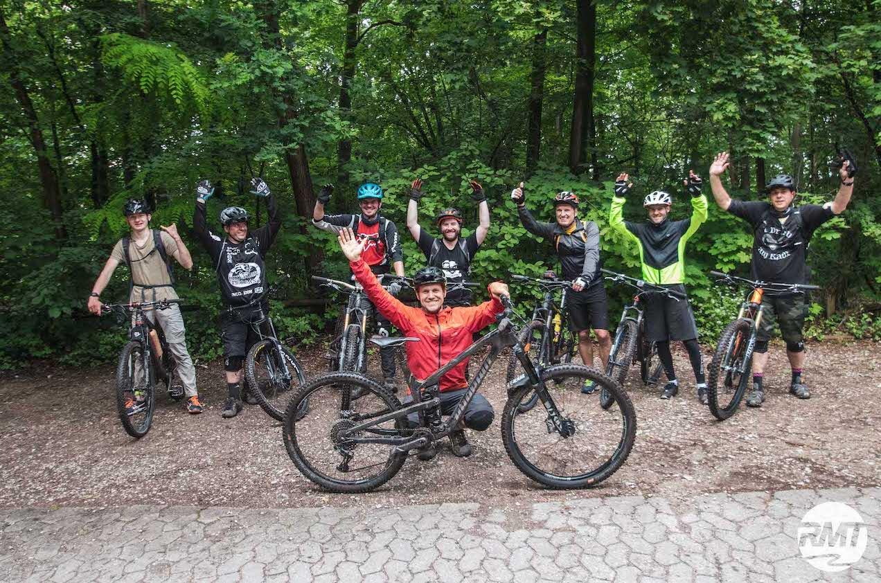 MTB Fahrtechnik Kurs Fortgeschrittene in Stuttgart  Esslingen - Mountainbike Fortgeschritten - Rock my Trail Bikeschule - 9