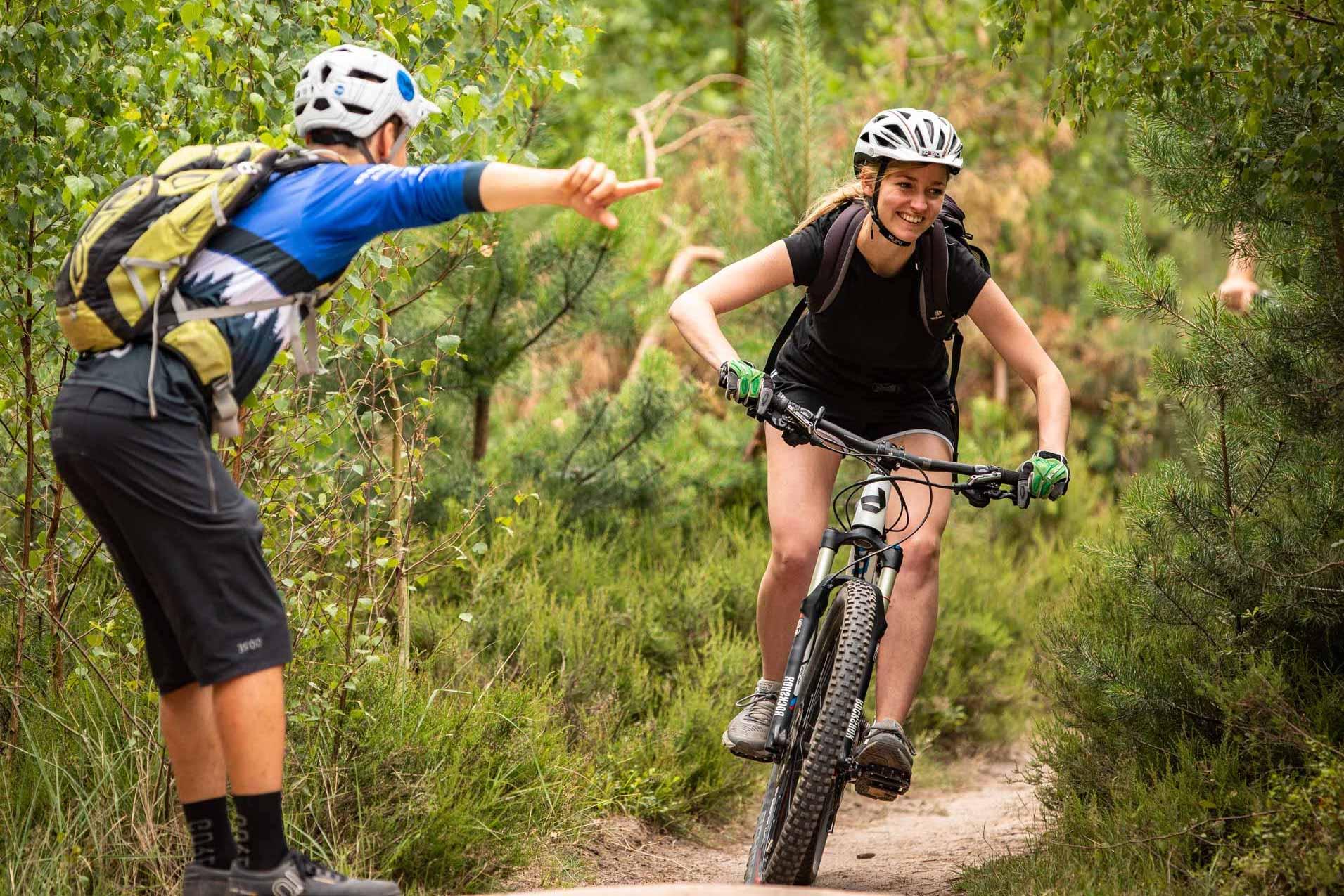 MTB Fahrtechnik Kurs für Einsteiger in Ravensburg - Mountainbike Basic - Rock my Trail Bikeschule