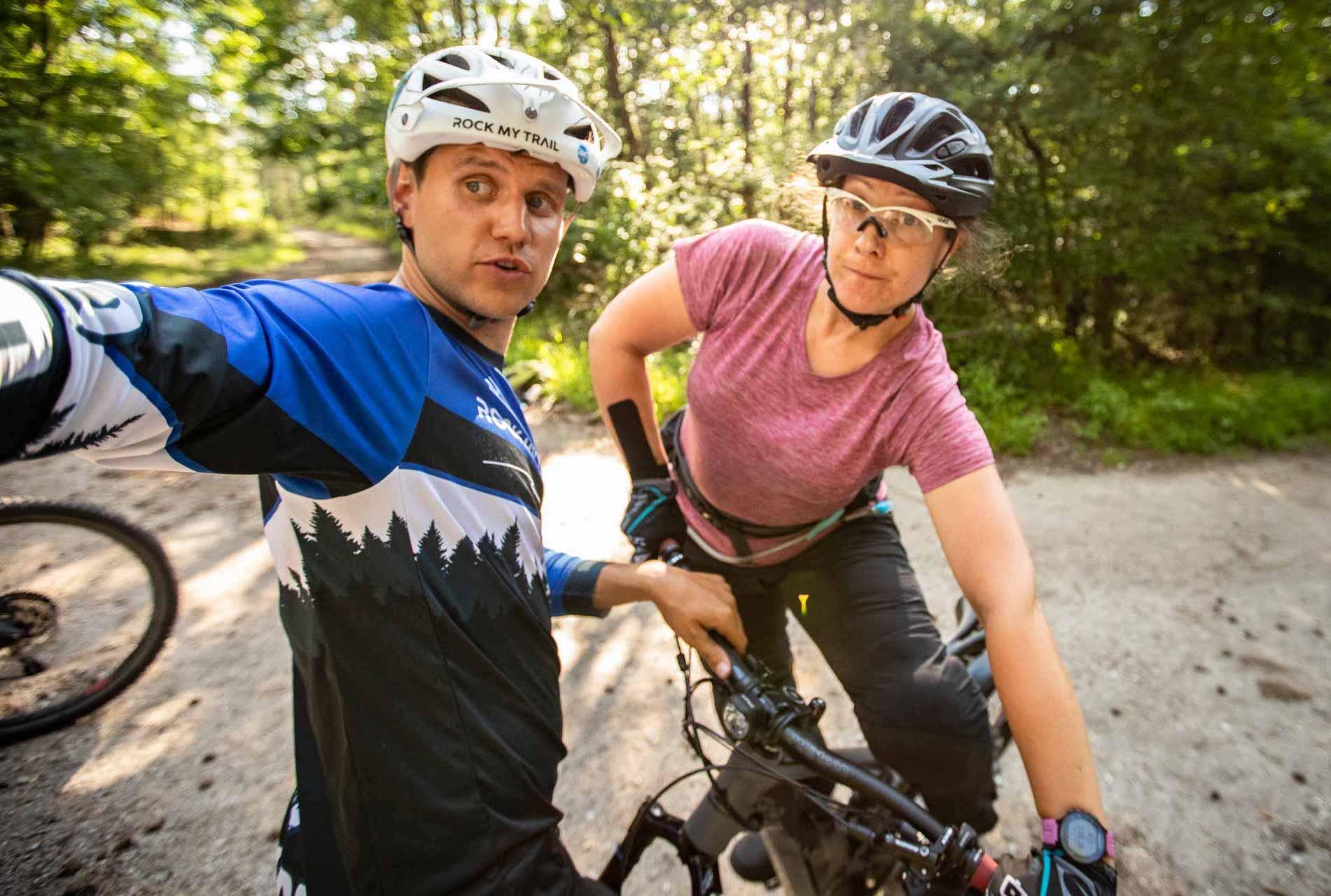 MTB Fahrtechnik Kurs für Einsteiger in Eschweiler - Mountainbike Basic - Rock my Trail Bikeschule