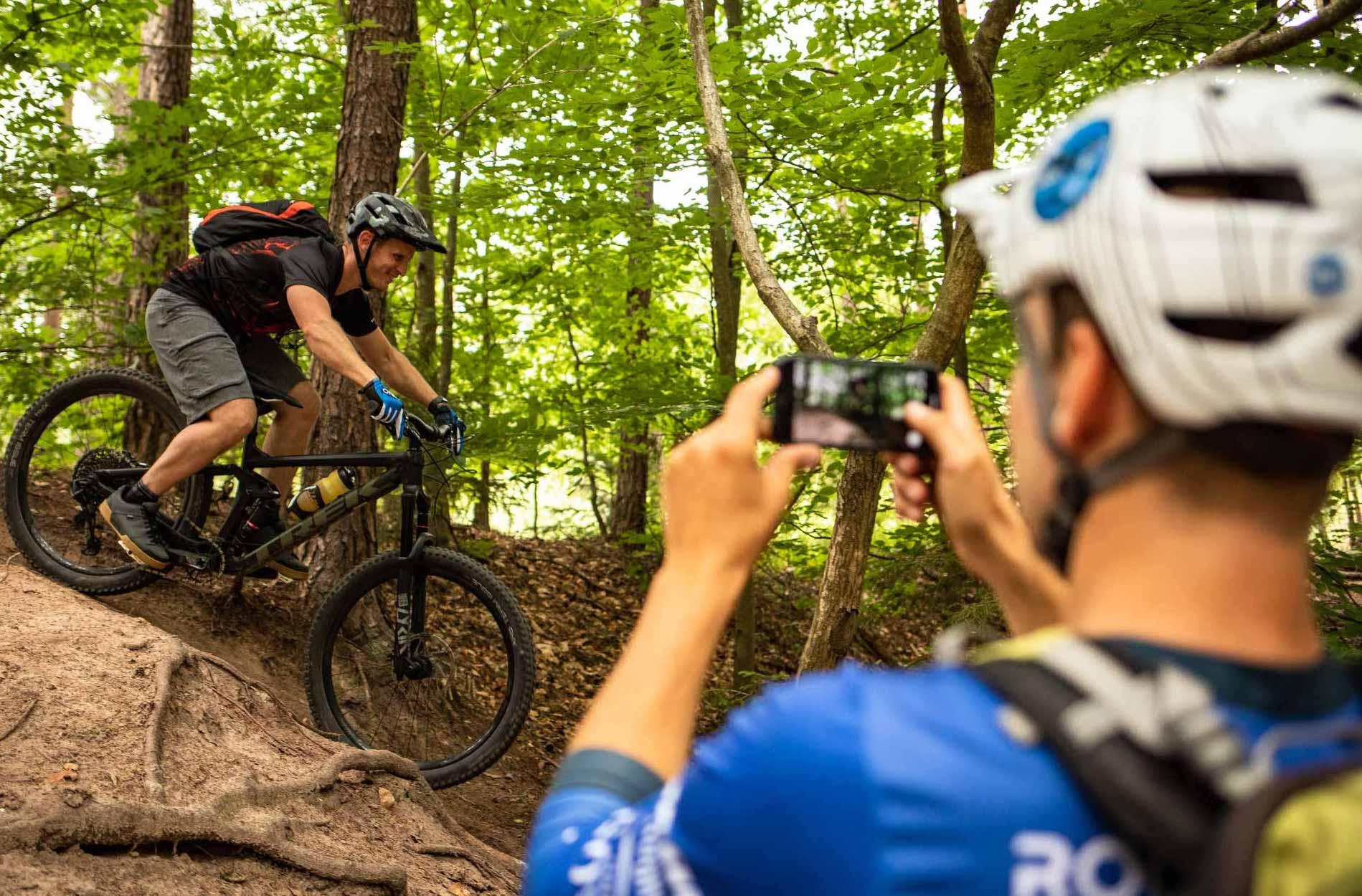 MTB Fahrtechnik Kurs für Einsteiger in Hannover | Bad Salzdetfurth - Mountainbike Basic - Rock my Trail Bikeschule