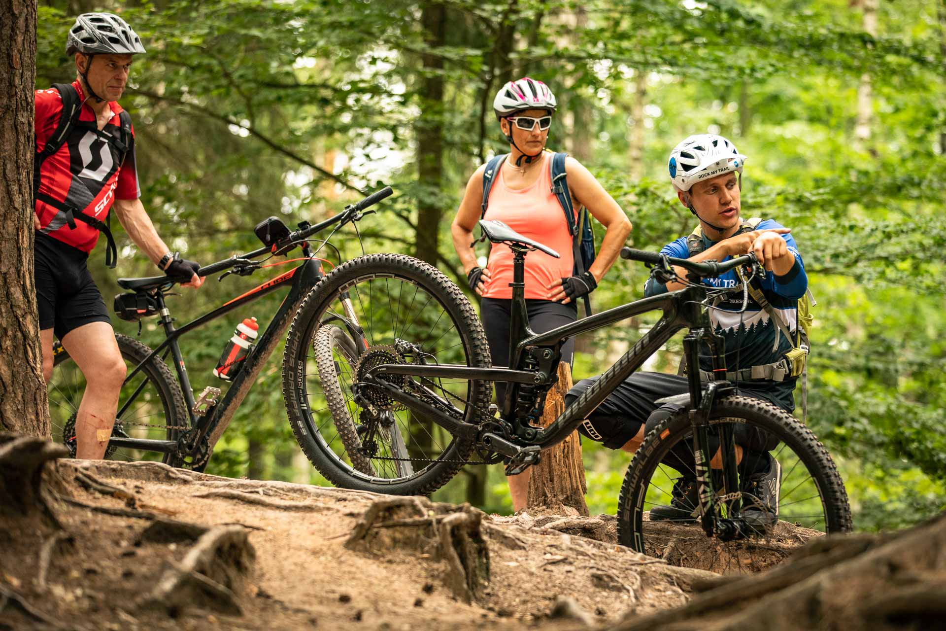 MTB Fahrtechnik Kurs für Einsteiger in Kassel - Mountainbike Basic - Rock my Trail Bikeschule - 9