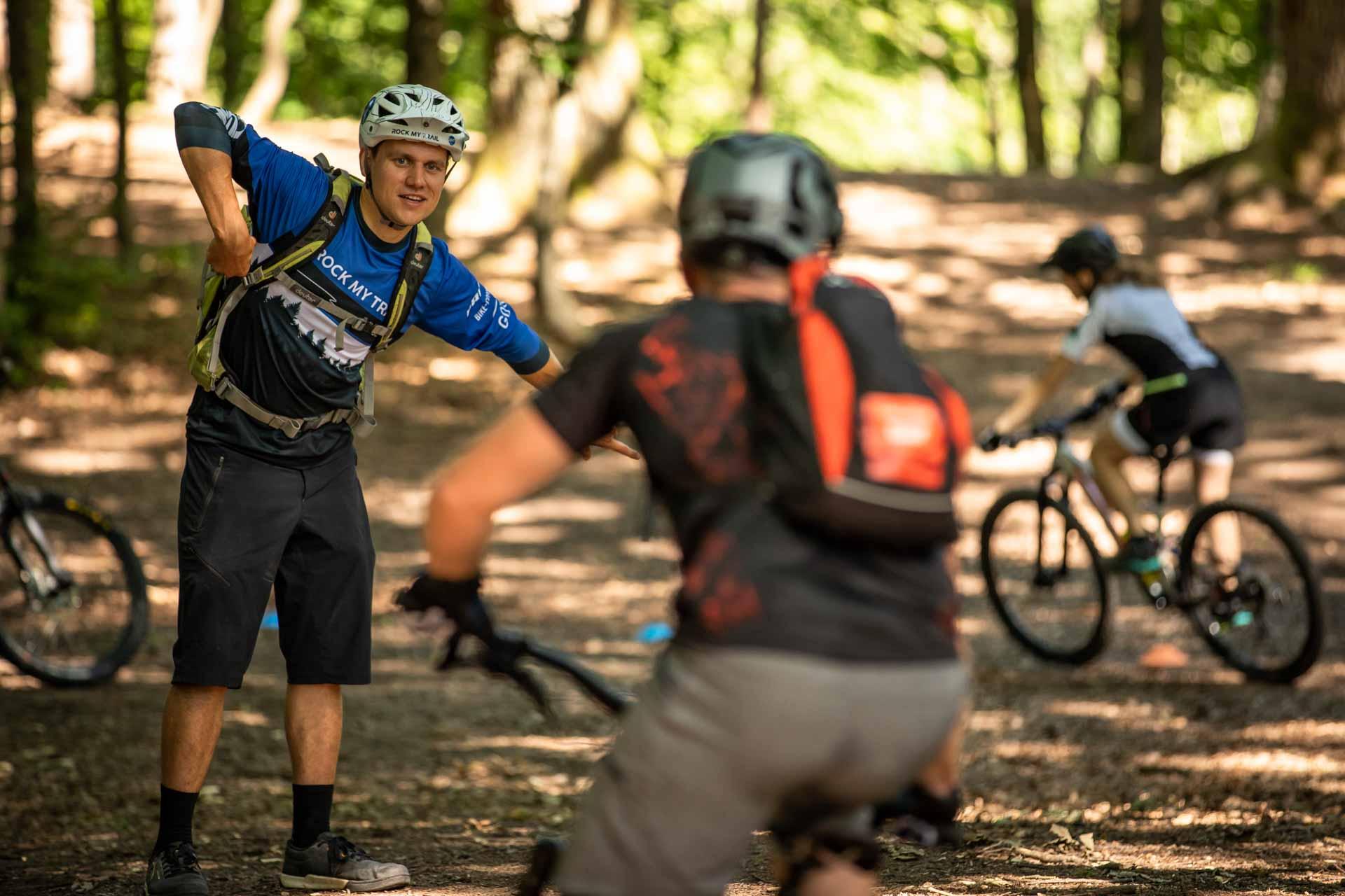 MTB Fahrtechnik Kurs für Einsteiger in Moers - Mountainbike Basic - Rock my Trail Bikeschule - 20