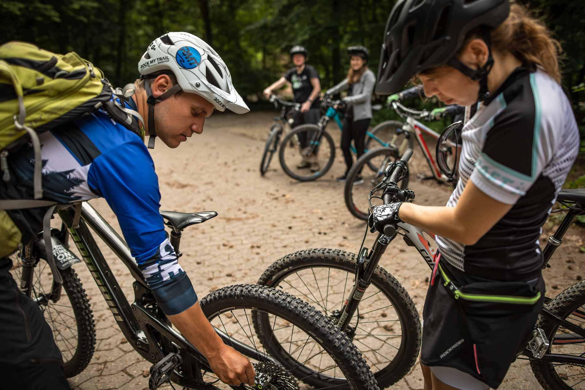 MTB Fahrtechnik Kurs für Einsteiger in Moers - Mountainbike Basic - Rock my Trail Bikeschule - 25