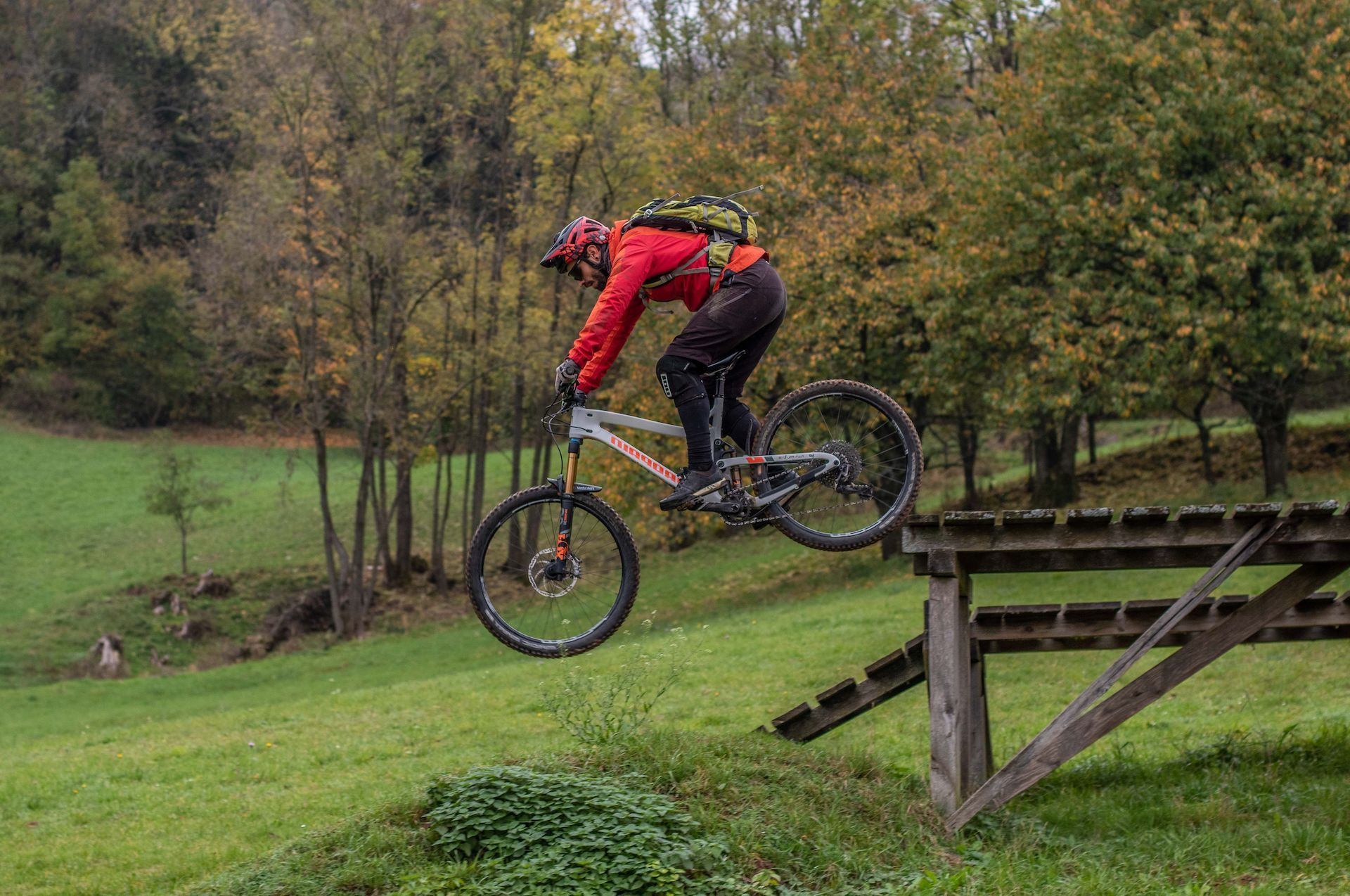 MTB Fahrtechnik Kurse im Bikepark Osternohe - Bike Training mit Rock my Trail Bikeschule - Geisskopf