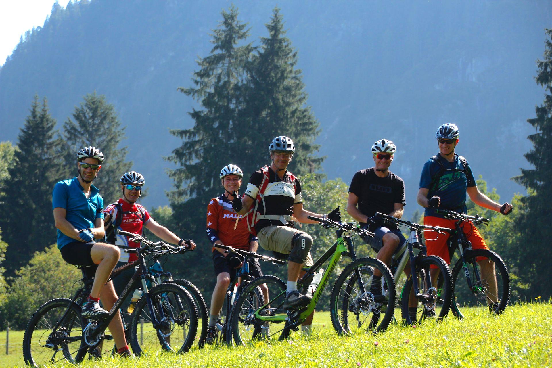 MTB Fahrtechnik Kurse im Bikepark Samerberg Anfänger Beginner und Fortgeschritten Training - Rock my Trail Bikeschule -1