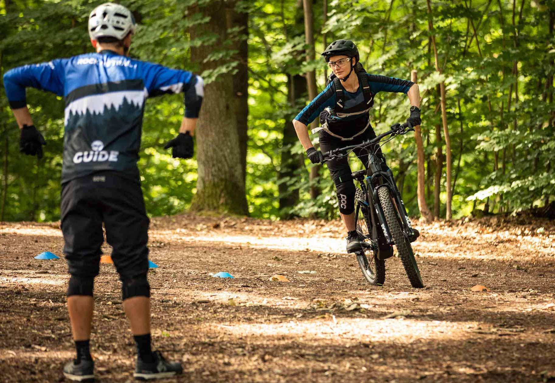 MTB Fahrtechnik Kurse in Köln Rheinland Kinder Einsteiger Fortgeschritten Training Rock my Trail Bikeschule