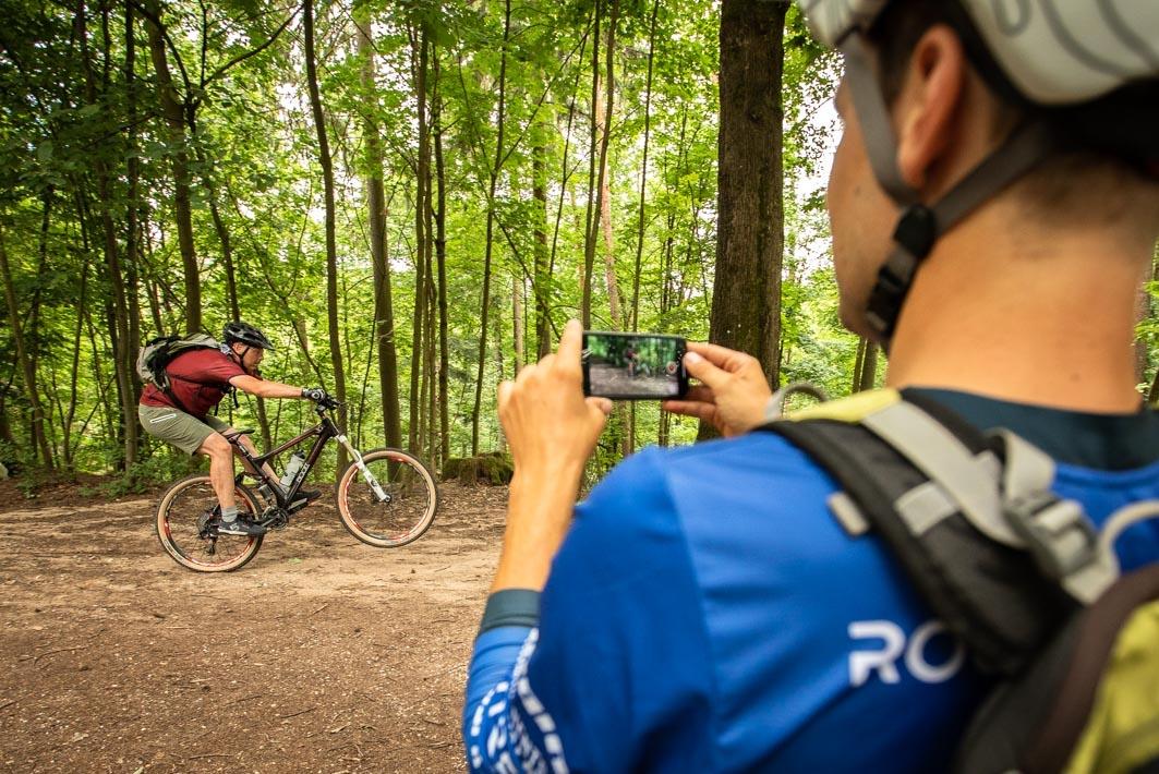 MTB Fortgeschritten Fahrtechnik Kurs in Tübingen - Mountainbike Training - Rock my Trail