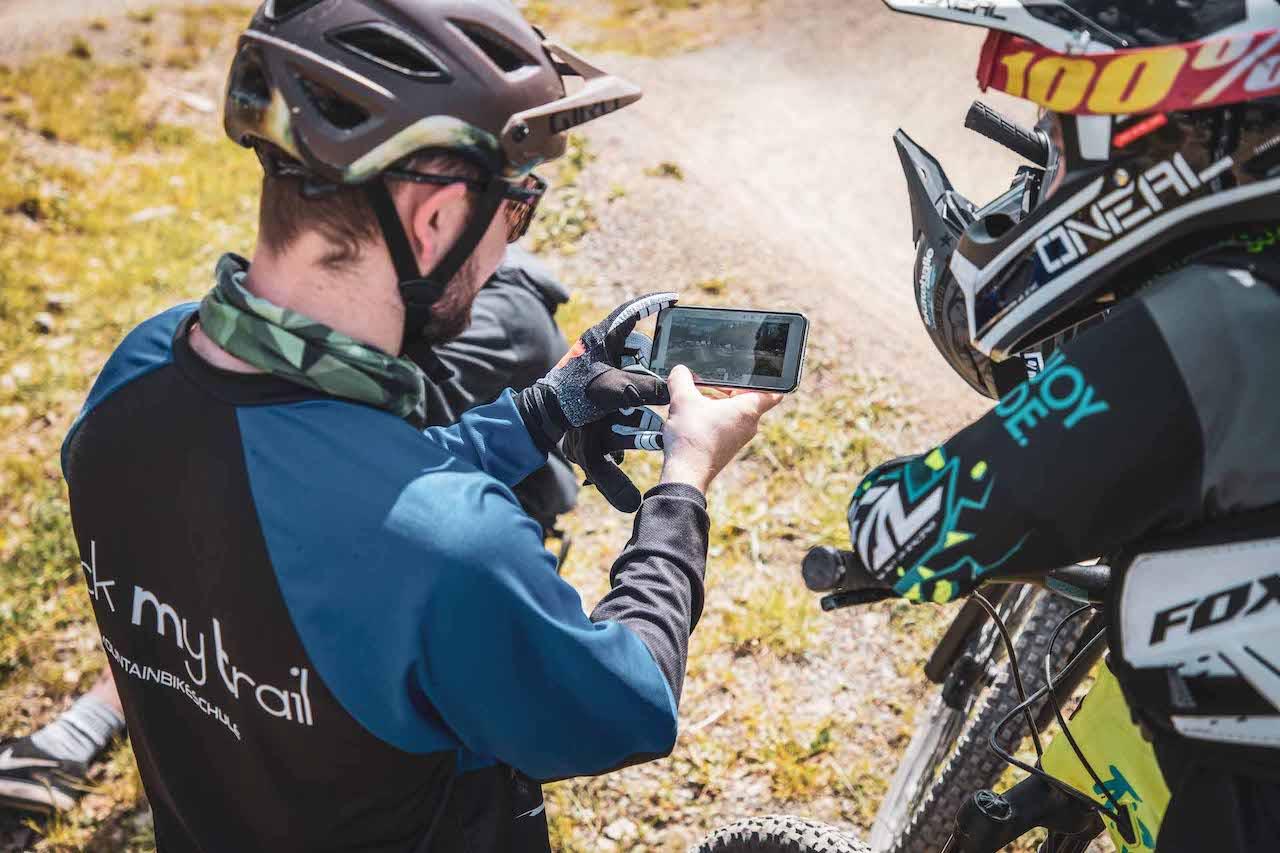 MTB Kinder Fortgeschritten Fahrtechnin Kurs Nürnberg - Rock my Trail Bikeschule 1