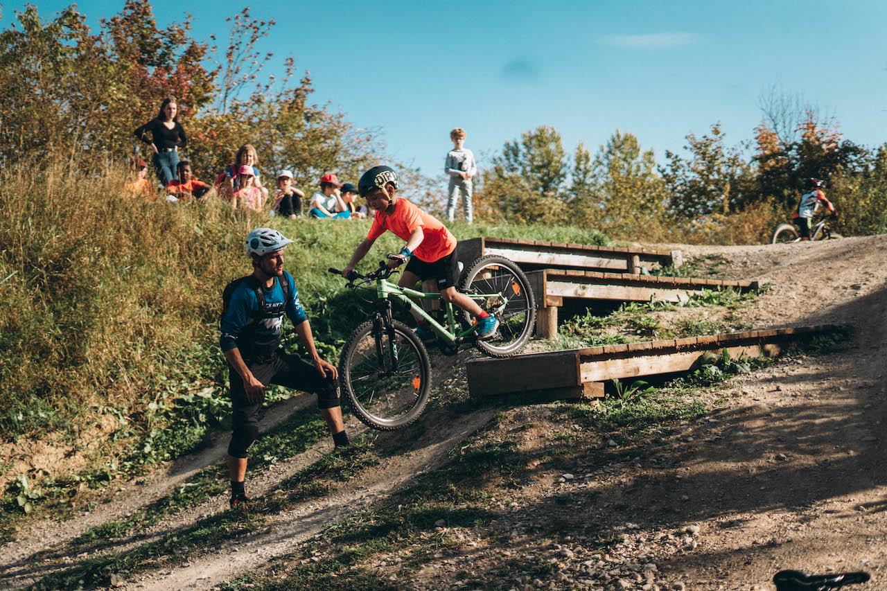 MTB Kinder Fortgeschritten Fahrtechnin Kurs Nürnberg - Rock my Trail Bikeschule