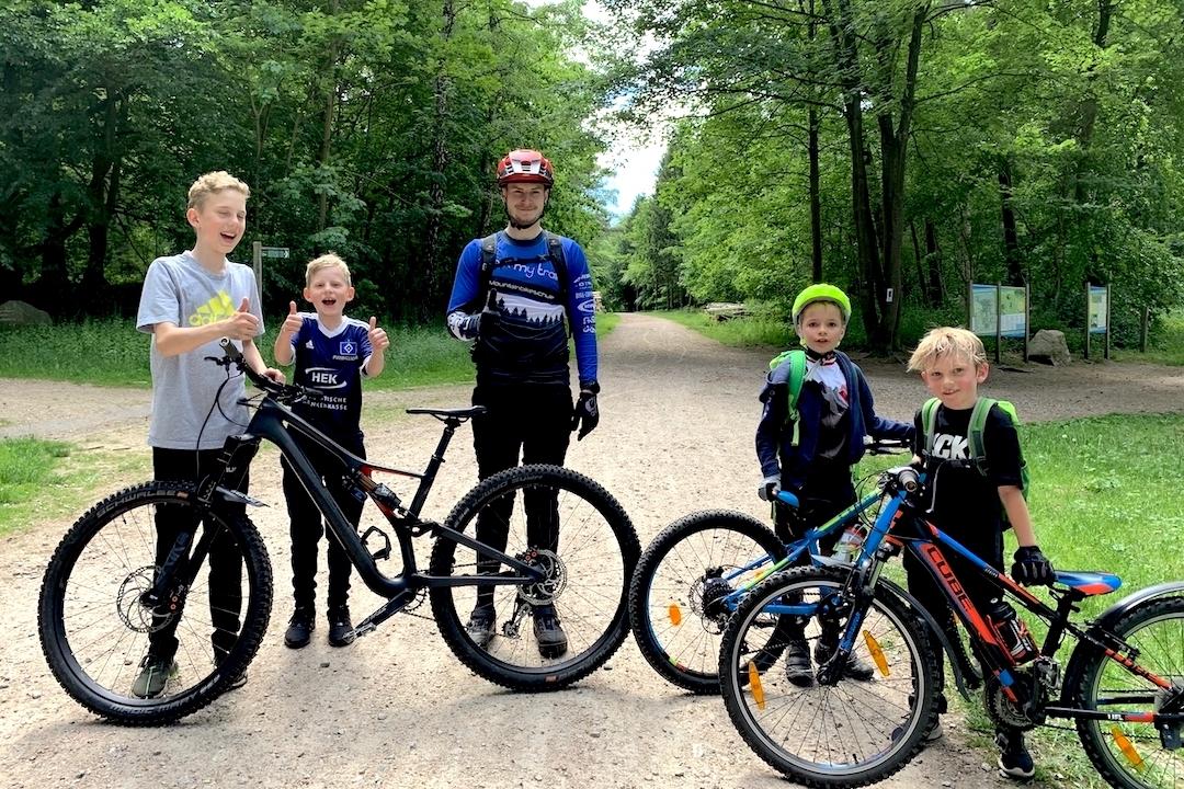 MTB Kinder Fortgeschritten Fahrtechnin Kurs Nürnberg - Rock my Trail Bikeschule 6