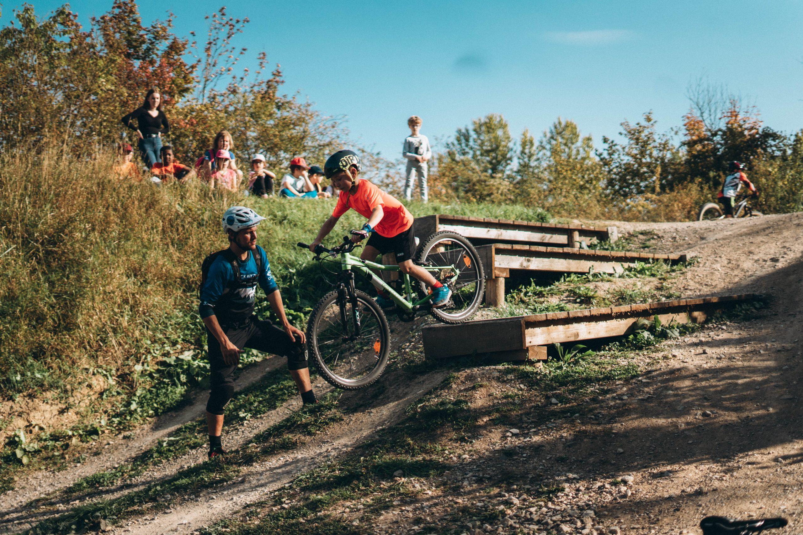 MTB Kinder Kurs Bikepark Samerberg - Fahrtechnik Training - Rock my Trail