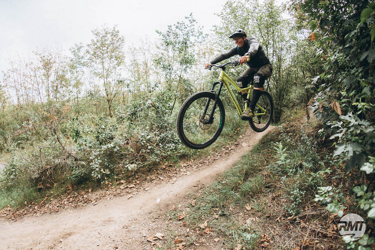 MTB Sprung & Drop Kurs im Bikepark Samerberg - Fahrtechnik Training Rock my Trail Bikeschule - 7