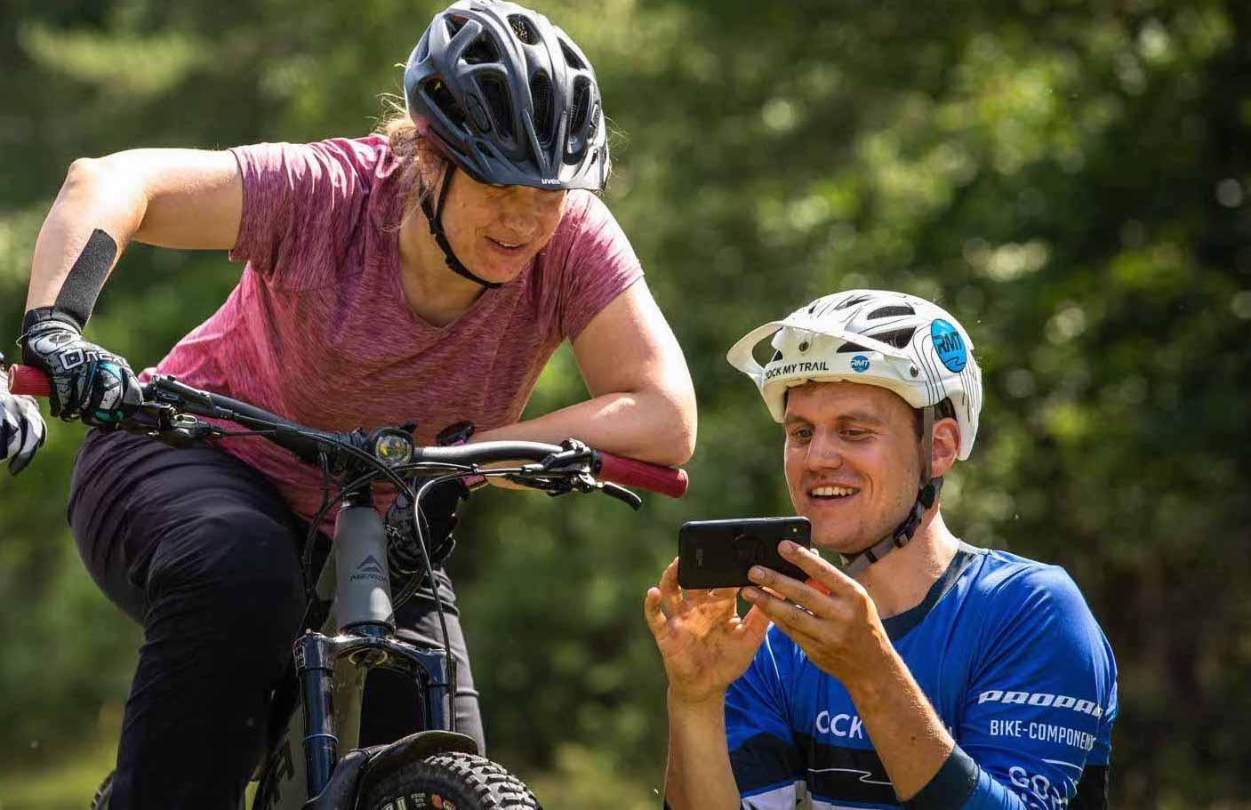 Mountainbike Frauen Fahrtechnik Kurs in München - Rock my Trail