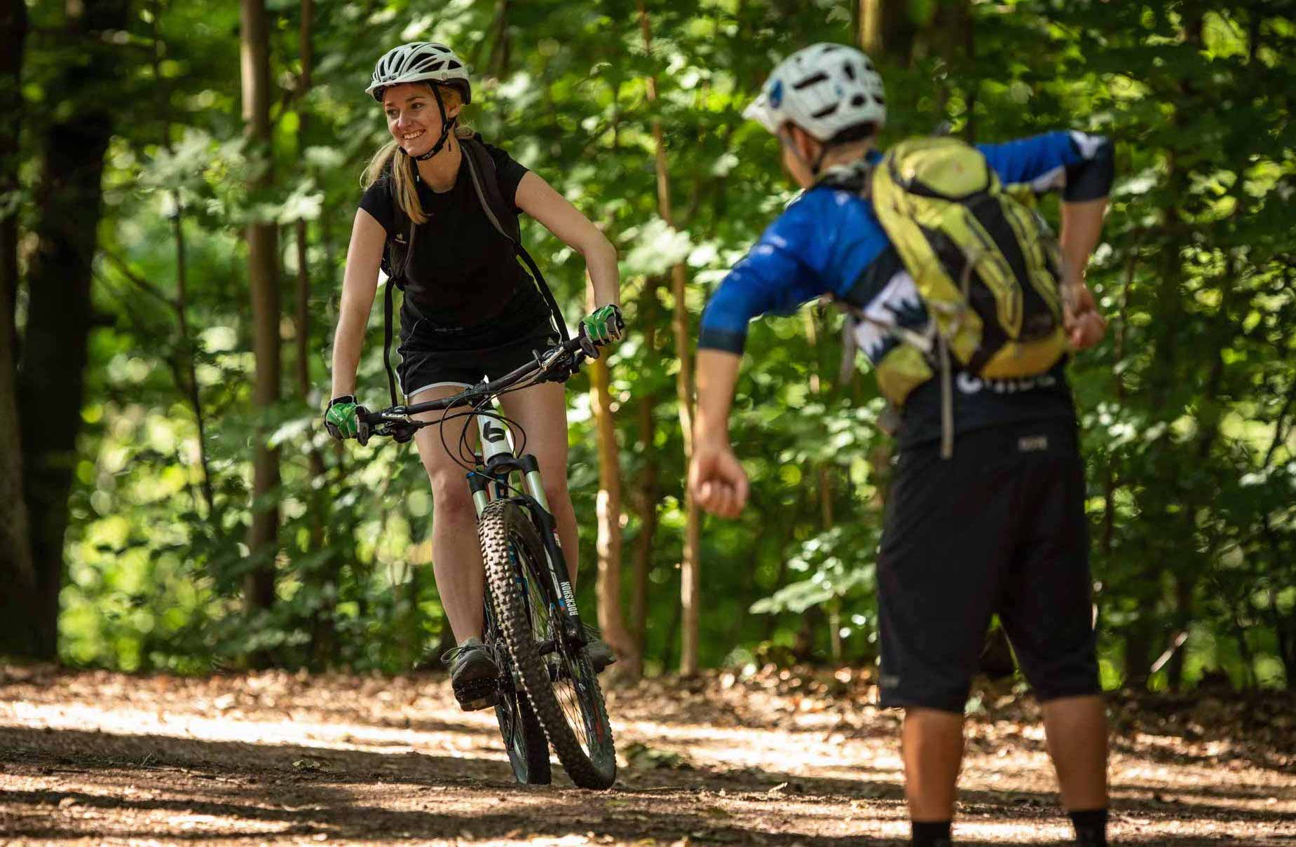 Mountainbike Frauen Fahrtechnik Kurs in München - Rock my Trail - 20